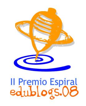 II Premio Espiral de Edublogs 08